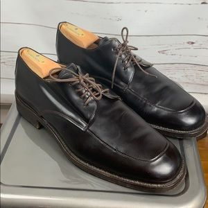 To Boot New York Dark brown oxfords mens 10